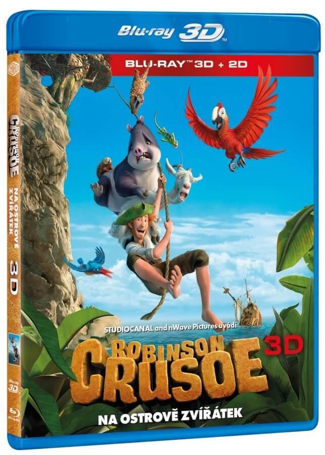 Robinson Crusoe: Na ostrově zvířátek (2D+3D) (1xBLU-RAY)
