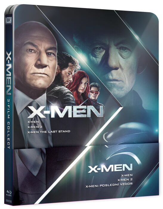 X-MEN Trilogie 1-3 (3xBLU-RAY) - STEELBOOK