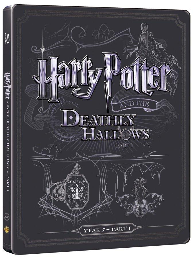 Harry Potter a Relikvie smrti - 1. část (BLU-RAY+DVD BONUS) - STEELBOOK