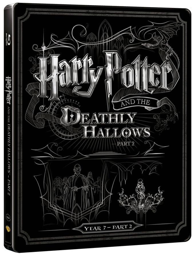 Harry Potter a Relikvie smrti - 2. část (BLU-RAY+DVD BONUS) - STEELBOOK