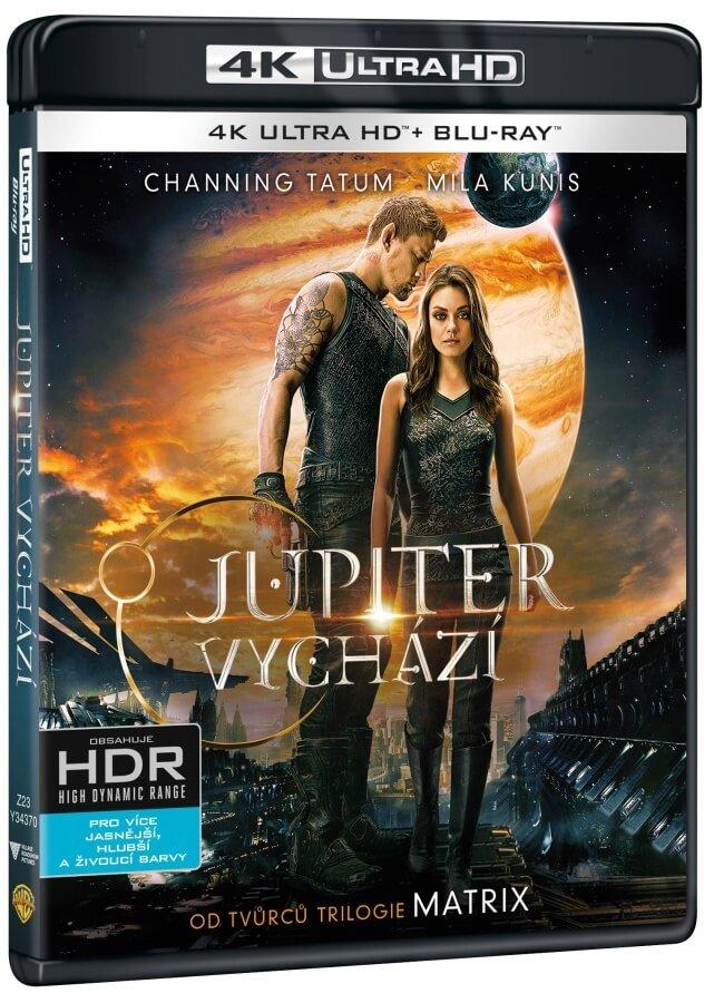 Jupiter vychází (2xBLU-RAY) (UHD+BLU-RAY)