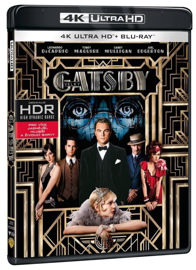 Velký Gatsby (2xBLU-RAY) (UHD+BLU-RAY)