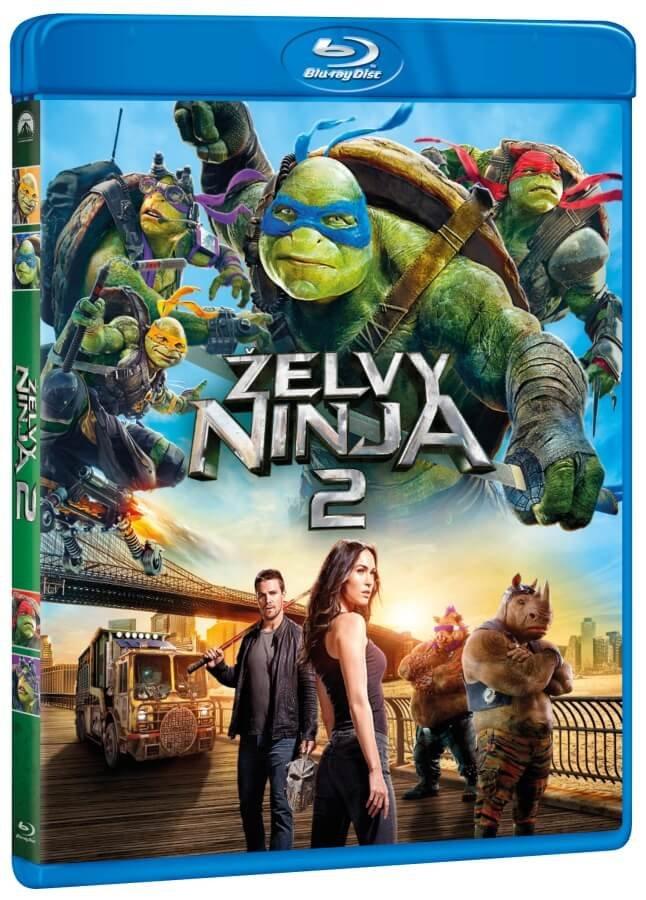 Želvy Ninja 2 (BLU-RAY)