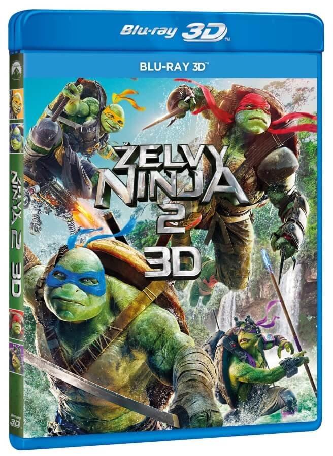 Želvy Ninja 2 (3D) (1xBLU-RAY)