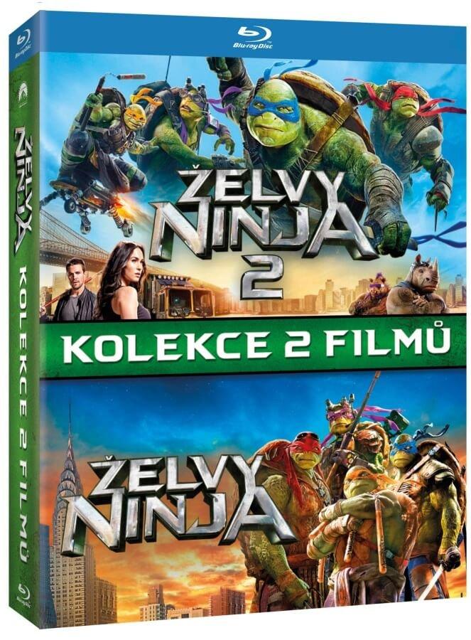 Želvy Ninja 1+2 - kolekce (2xBLU-RAY)