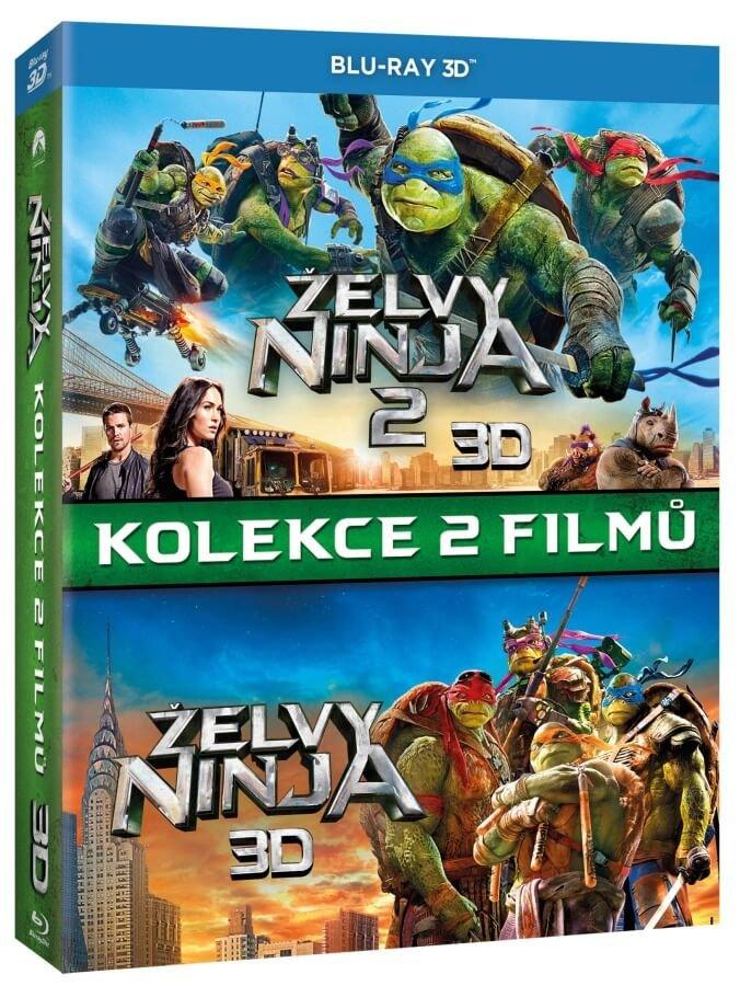 Želvy Ninja 1+2 - kolekce (2D+3D) (3xBLU-RAY)