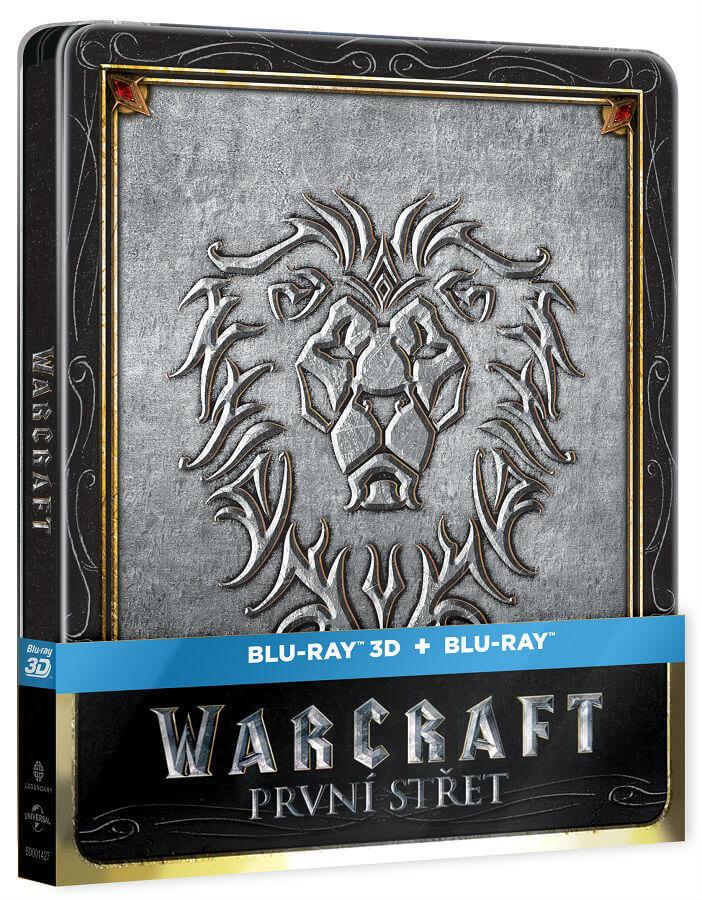 Warcraft: První střet (2D+3D) (2xBLU-RAY) - STEELBOOK