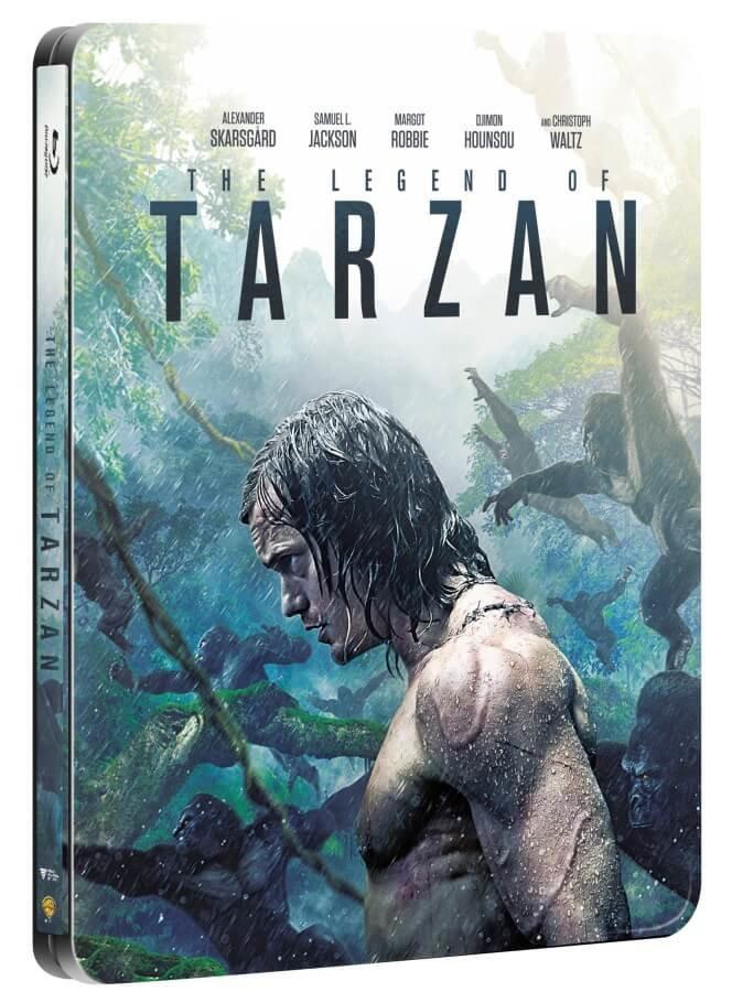 Legenda o Tarzanovi (2D+3D) (2 BLU-RAY) - STEELBOOK