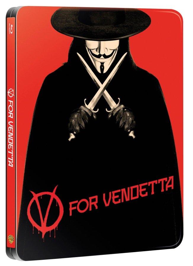 V jako Vendeta (BLU-RAY) - STEELBOOK