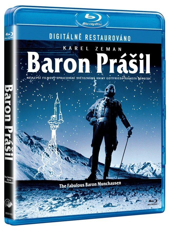 Baron Prášil (BLU-RAY) - digitálně restaurováno