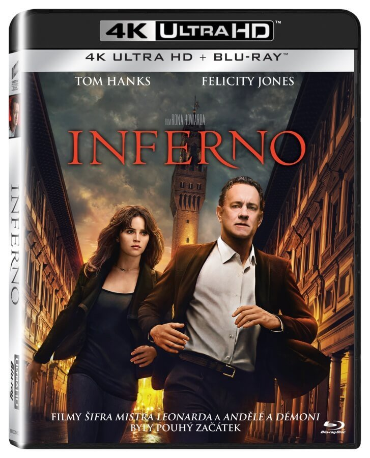 Inferno (UHD / BLU-RAY) (2xBLU-RAY)