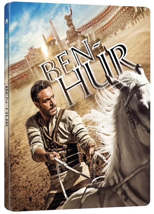 Ben Hur (2016) (BLU-RAY) - STEELBOOK