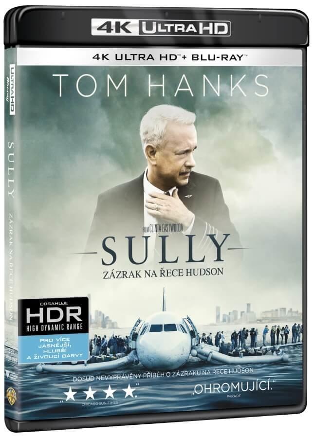 Sully: Zázrak na řece Hudson (UHD / BLU-RAY) (2xBLU-RAY)