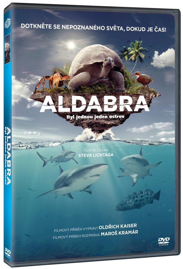 Aldabra: Byl jednou jeden ostrov (DVD)