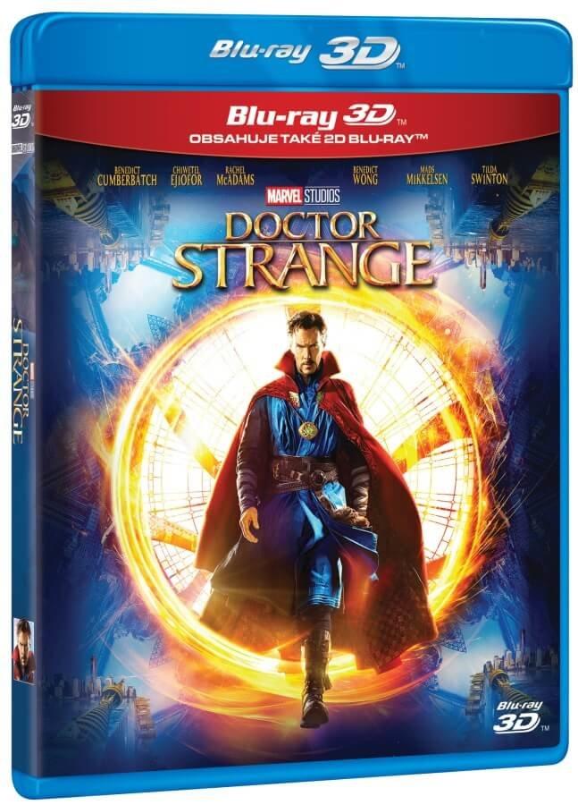 Doctor Strange (2D+3D) (2xBLU-RAY)