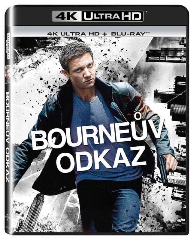 Bourneův odkaz (UHD / BLU-RAY) (2xBLU-RAY)