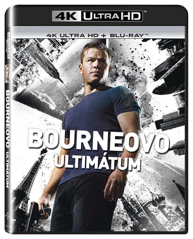 Bourneovo ultimátum (UHD / BLU-RAY) (2xBLU-RAY)
