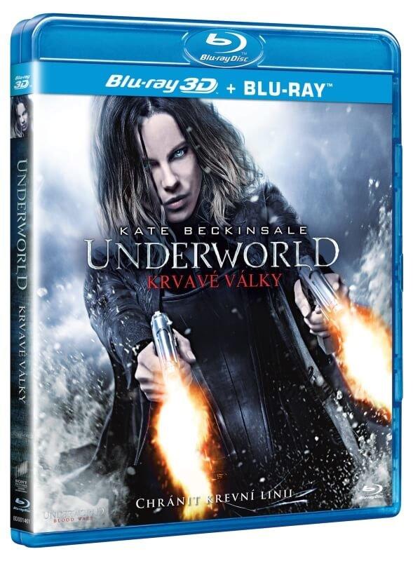 Underworld: Krvavé války (2D+3D) (2xBLU-RAY)