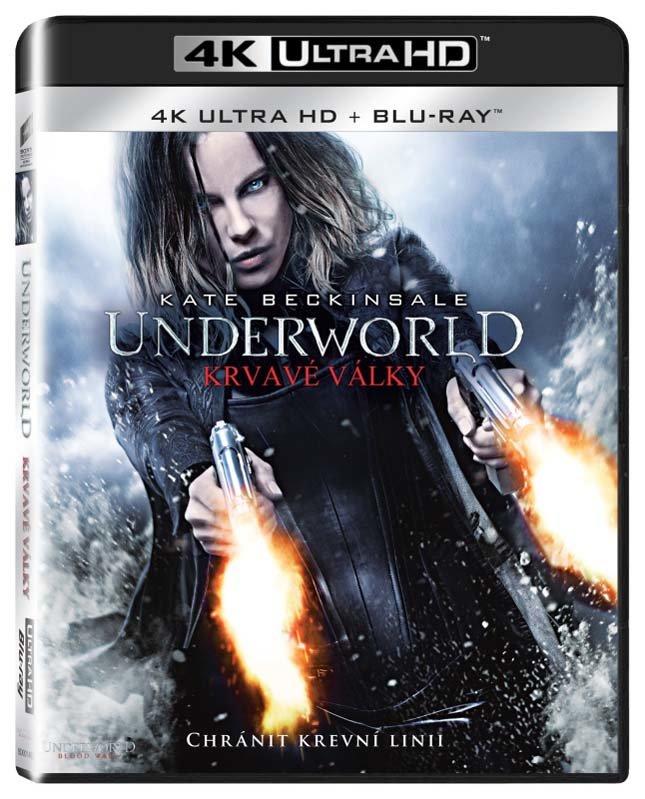 Underworld: Krvavé války (UHD+BLU-RAY) (2xBLU-RAY)