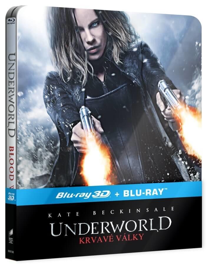 Underworld: Krvavé války (2D+3D) (2xBLU-RAY) - STEELBOOK