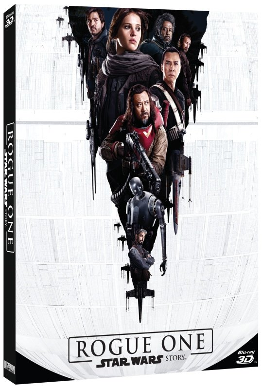 Rogue One: Star Wars Story (3BLU-RAY) (2D+3D+2D BLU-RAY bonusový disk)