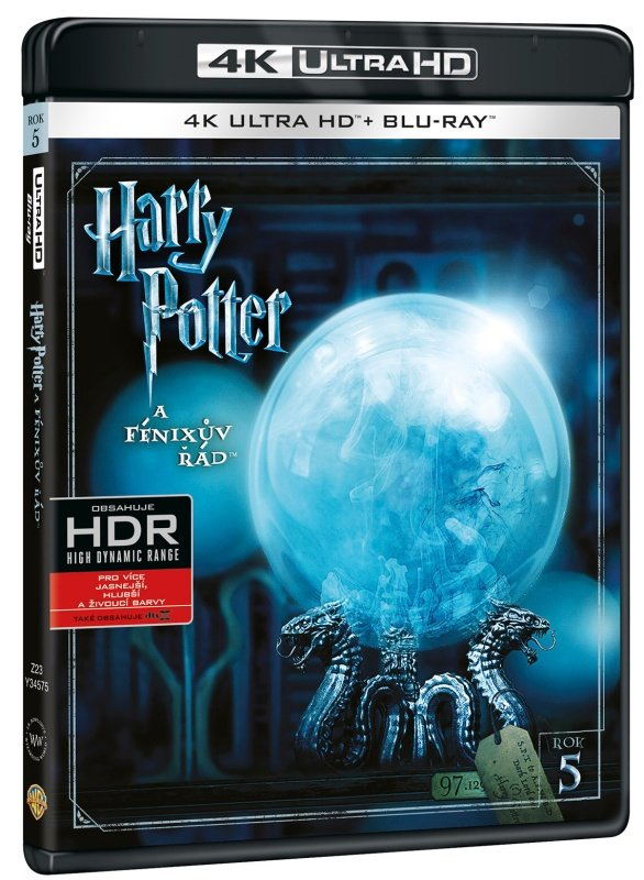 Harry Potter a Fénixův řád (4K ULTRA HD+BLU-RAY) (2 BLU-RAY)