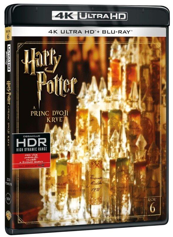 Harry Potter a princ dvojí krve (UHD+BLU-RAY) (2xBLU-RAY)