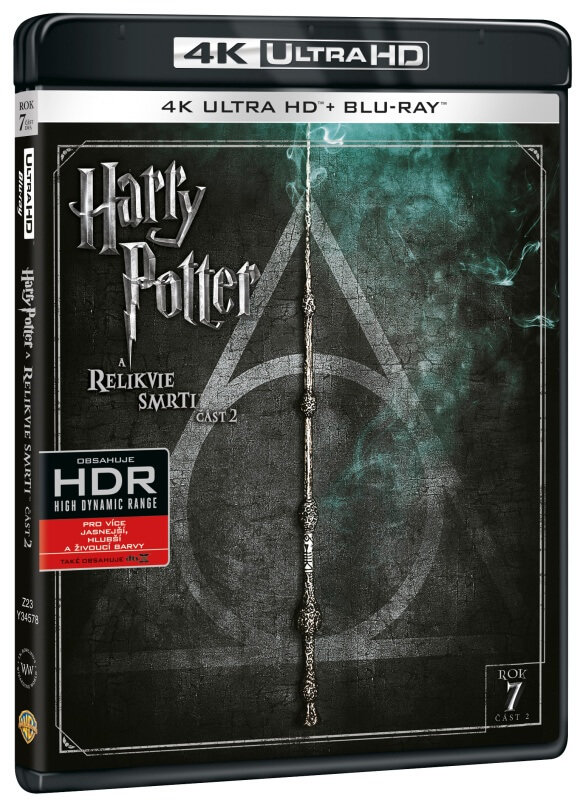 Harry Potter a Relikvie smrti - 2. část (4K ULTRA HD+BLU-RAY) (2 BLU-RAY)