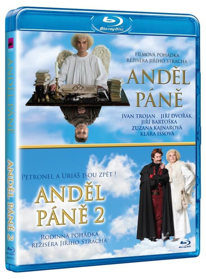 Anděl Páně 1+2 - kolekce (2xBLU-RAY)