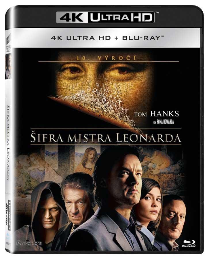 Šifra mistra Leonarda (4K ULTRA HD+BLU-RAY) (2 BLU-RAY)