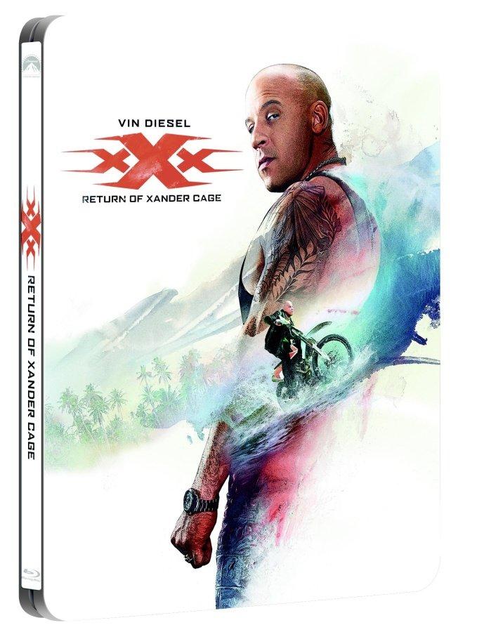 Levně XXX: Návrat Xandera Cage (2D+3D) (2 BLU-RAY) - STEELBOOK