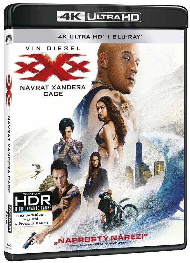 XXX: Návrat Xandera Cage (UHD+BLU-RAY) (2xBLU-RAY)