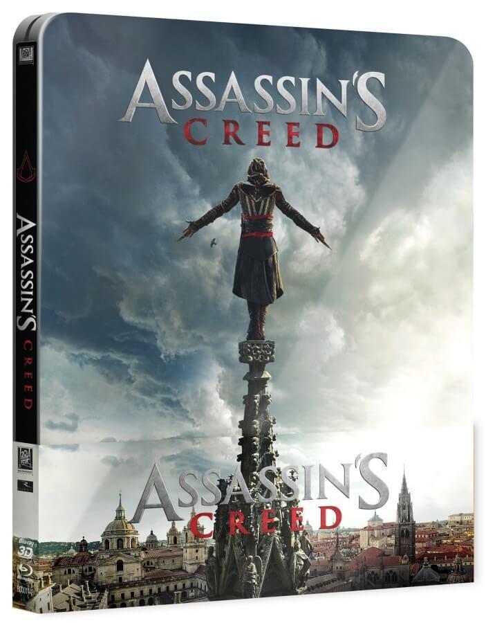 Assassin's Creed (2D+3D) (2 BLU-RAY) - STEELBOOK
