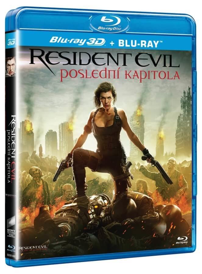Resident Evil: Poslední kapitola (2D+3D) (2xBLU-RAY)