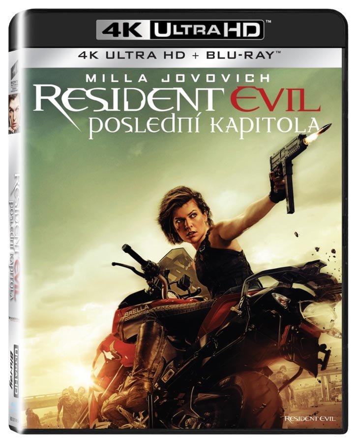 Resident Evil: Poslední kapitola (UHD+BLU-RAY) (2xBLU-RAY)