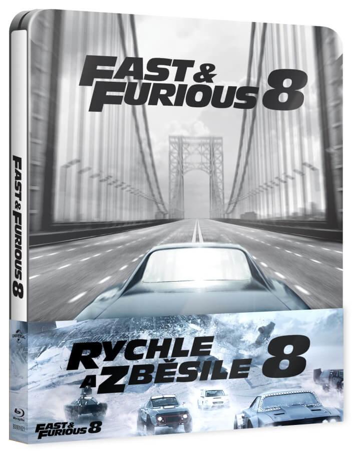 Rychle a zběsile 8 (BLU-RAY+DVD BONUS) - STEELBOOK