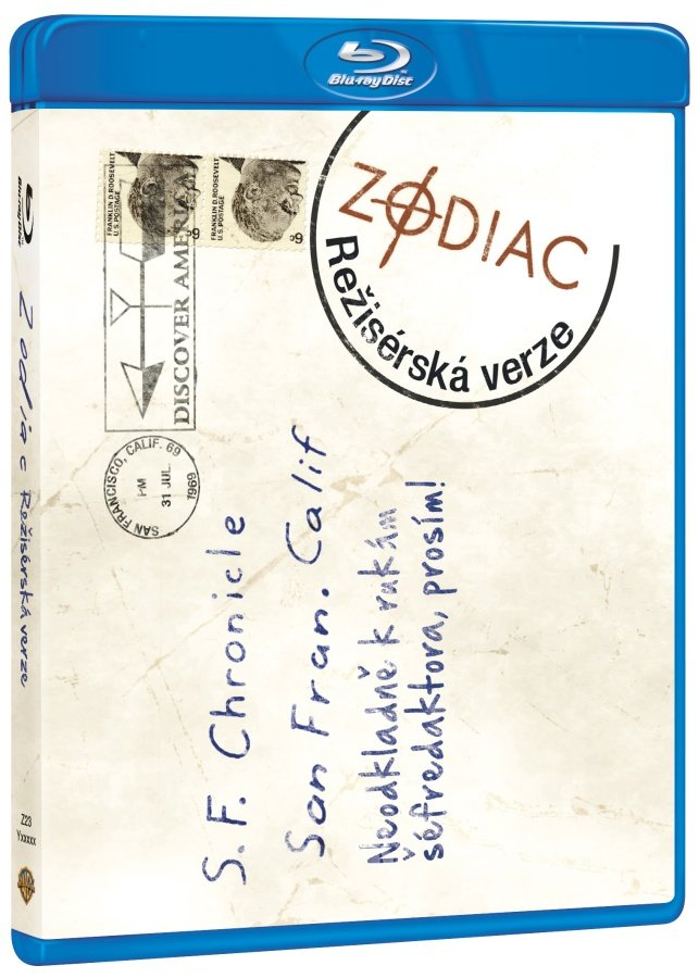 Zodiac (BLU-RAY) - režisérská verze