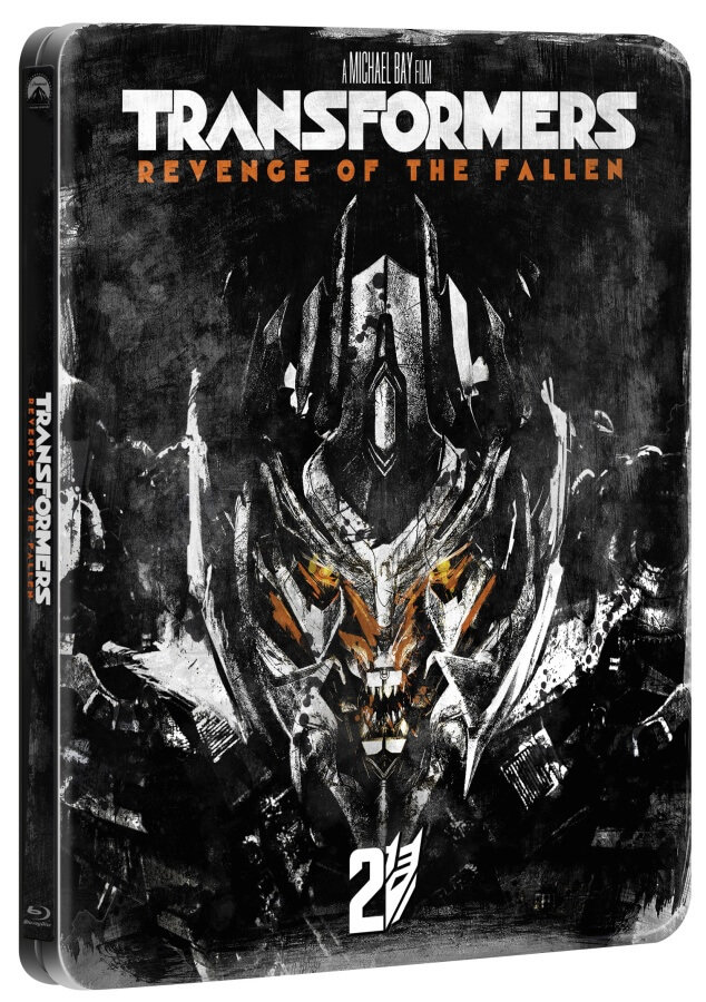 Transformers: Pomsta poražených (BLU-RAY) - edice 10 let - STEELBOOK