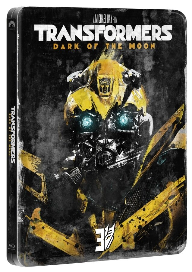 Transformers 3 (BLU-RAY) - edice 10 let - STEELBOOK