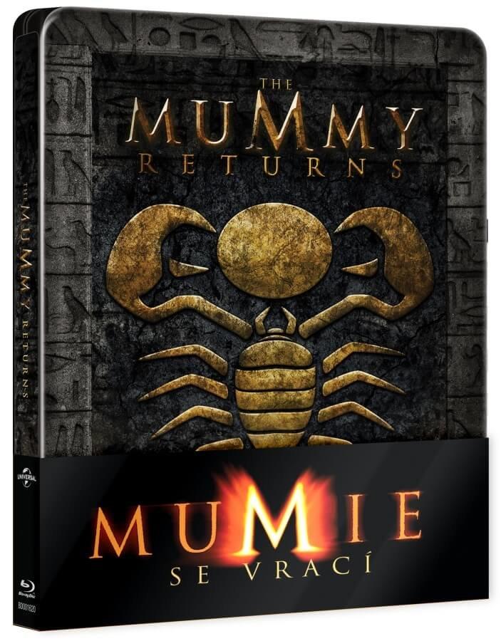 Mumie se vrací (BLU-RAY) - STEELBOOK