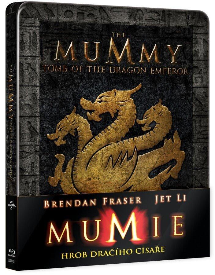 Mumie: Hrob dračího císaře (BLU-RAY) - STEELBOOK
