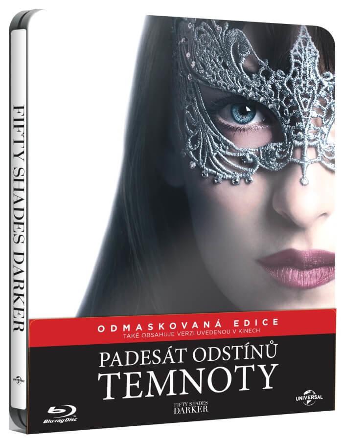 Padesát odstínů temnoty (BLU-RAY) - STEELBOOK - prodloužená verze