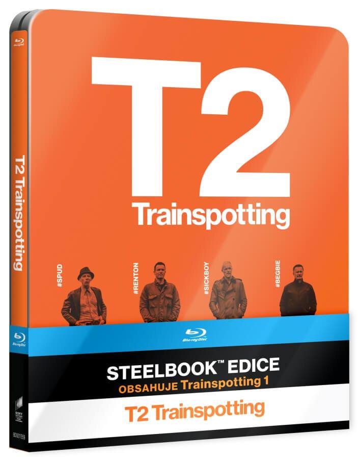 Trainspotting 1-2 (2xBLU-RAY) - STEELBOOK