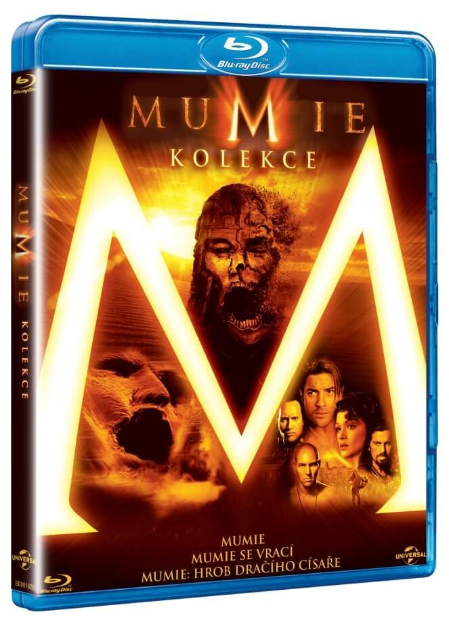 Mumie kolekce (3xBLU-RAY)