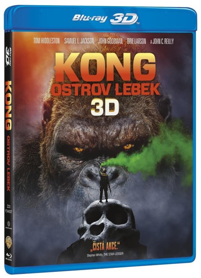 Kong: Ostrov lebek (2D+3D) (2BLU-RAY)