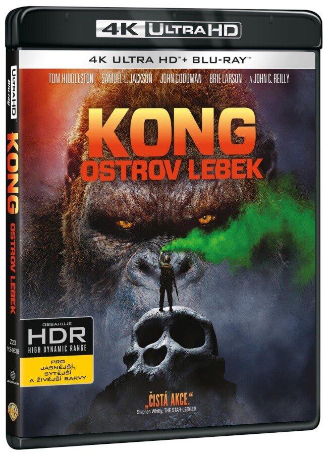 Kong: Ostrov lebek (UHD+BD) (2BLU-RAY)