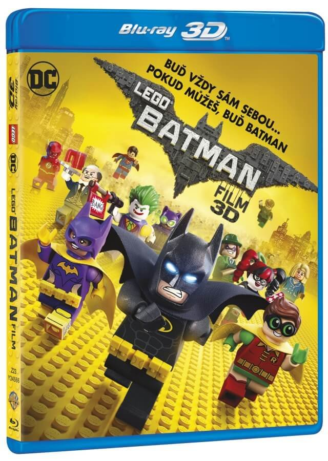 LEGO Batman Film (2D+3D) (2BLU-RAY)