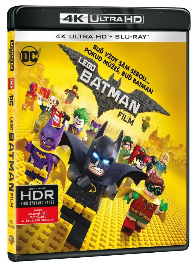 LEGO Batman Film (UHD+BLU-RAY) (2BLU-RAY)