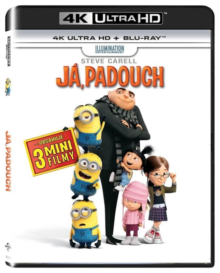 Já, padouch (UHD+BLU-RAY) (2BLU-RAY)