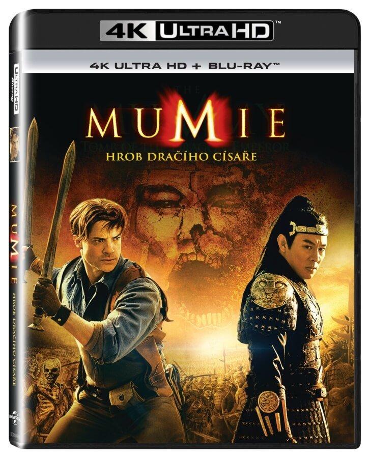 Mumie: Hrob dračího císaře (UHD+BLU-RAY) (2BLU-RAY)